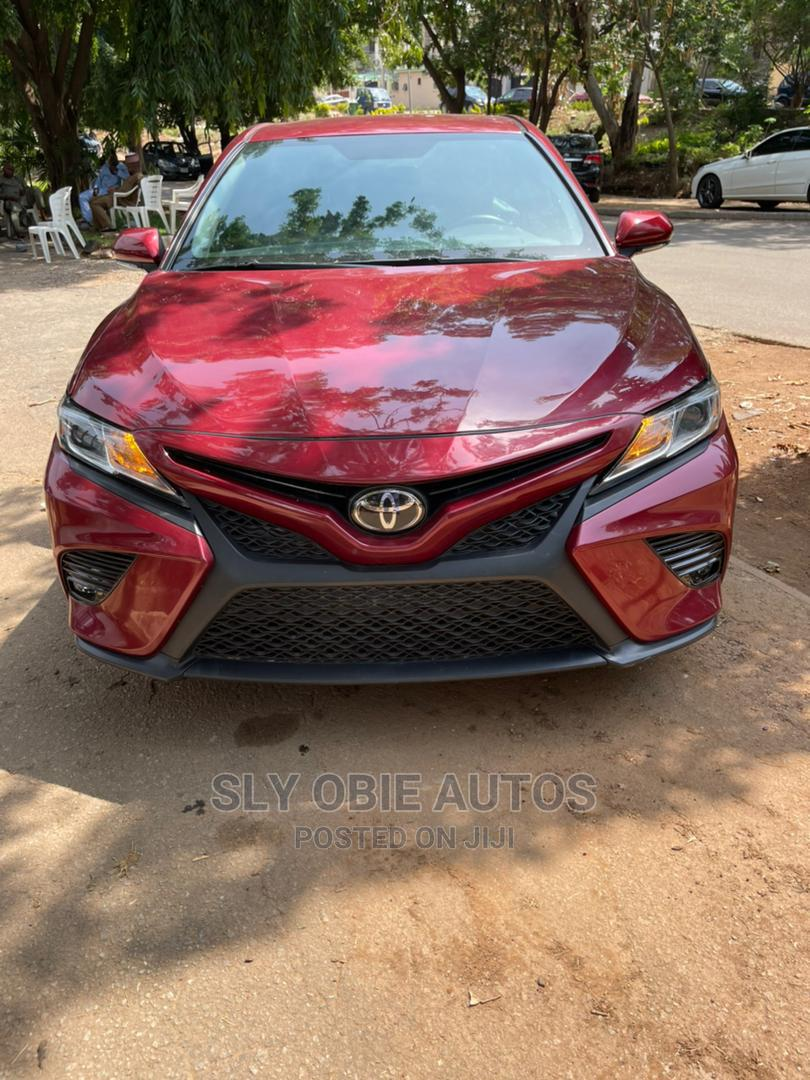 Toyota Camry 2019 XSE (2.5L 4cyl 8A) Red
