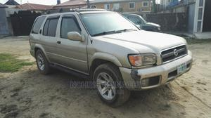 Nissan Pathfinder 2003 LE RWD SUV (3.5L 6cyl 4A) Gold | Cars for sale in Lagos State, Lekki