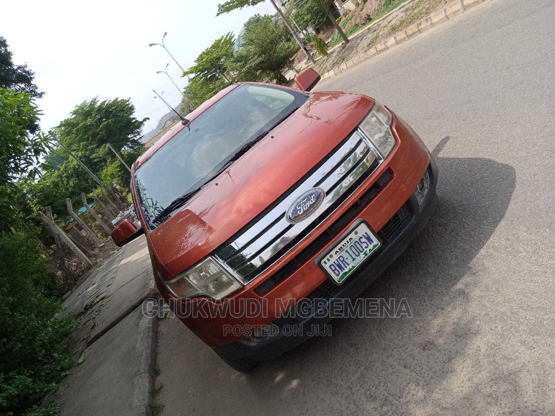 Archive: Ford Edge 2007 SE 4dr AWD (3.5L 6cyl 6A) Orange