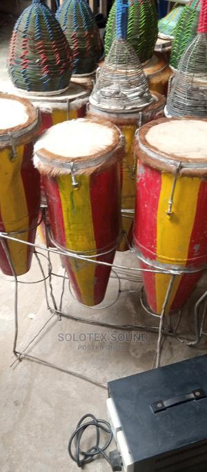 Original 3set Local Conga Drum   Musical Instruments & Gear for sale in Lagos State, Oshodi