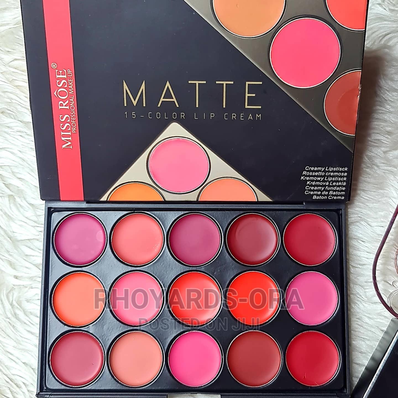 Miss Rose Matte Lip Cream Palatte