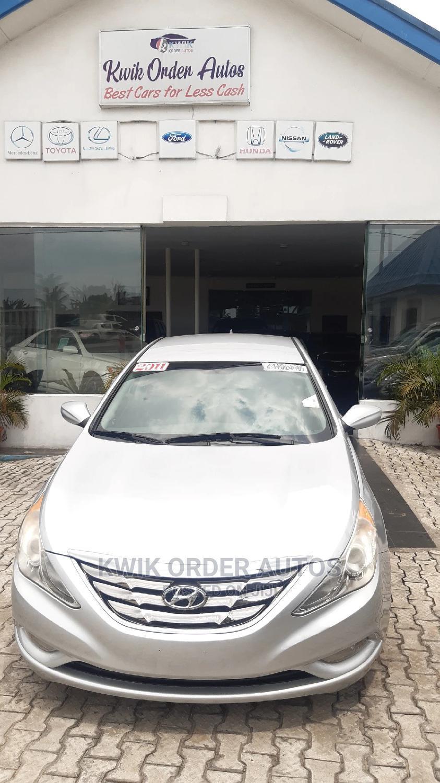 Hyundai Sonata 2011 Silver