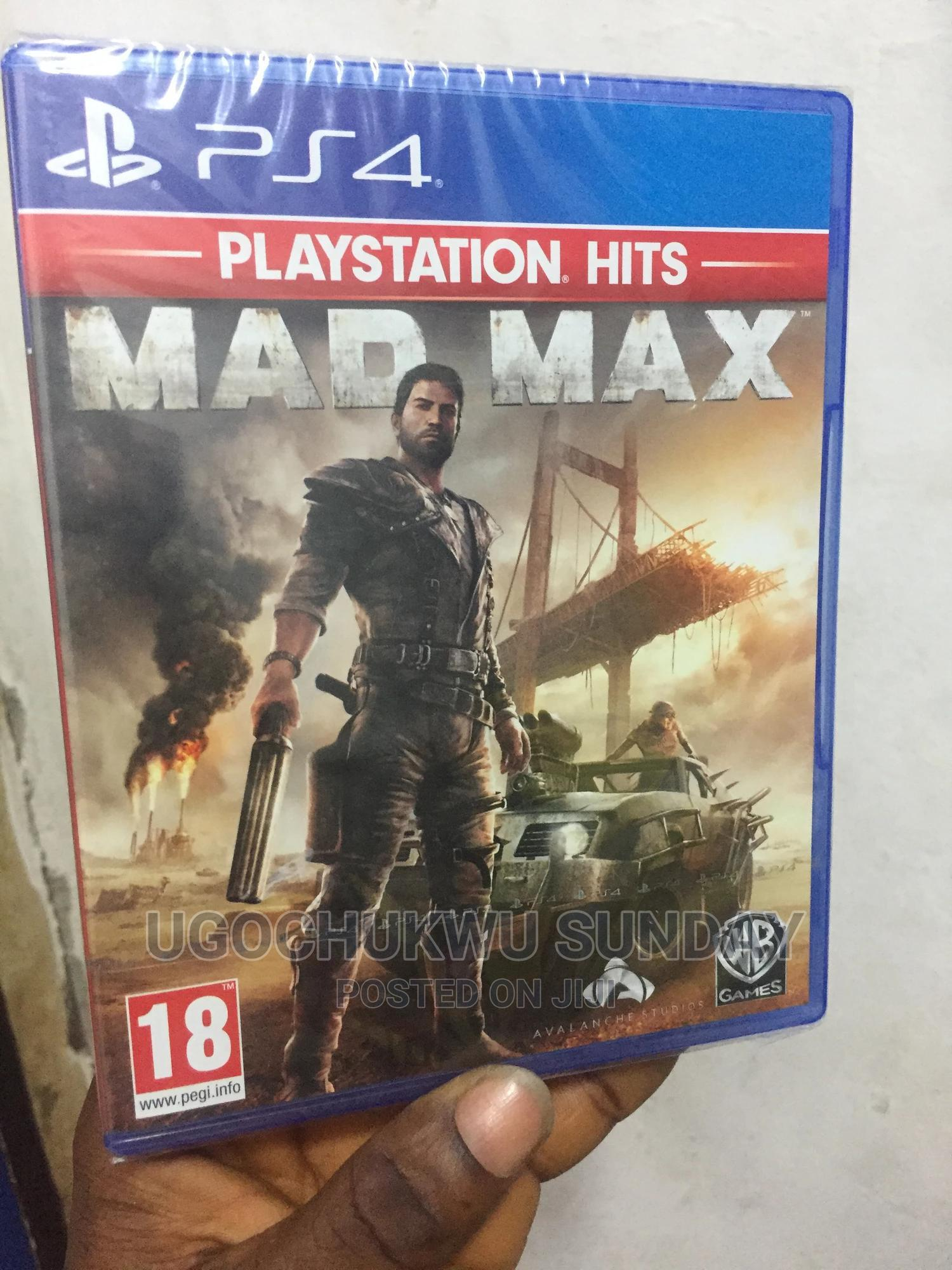 MAD MAX Video Game Playstation 4