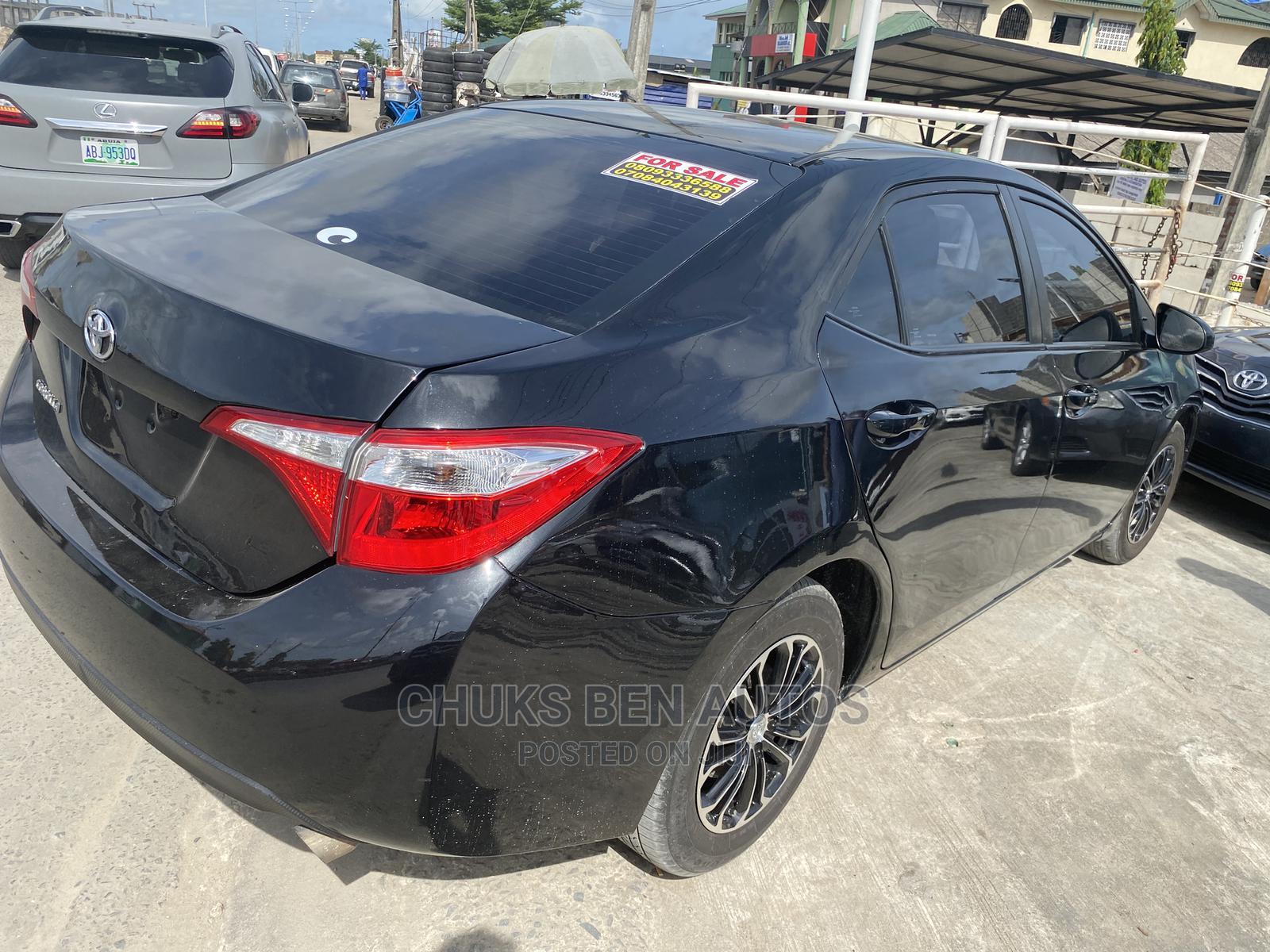 Toyota Corolla 2015 Black | Cars for sale in Ajah, Lagos State, Nigeria