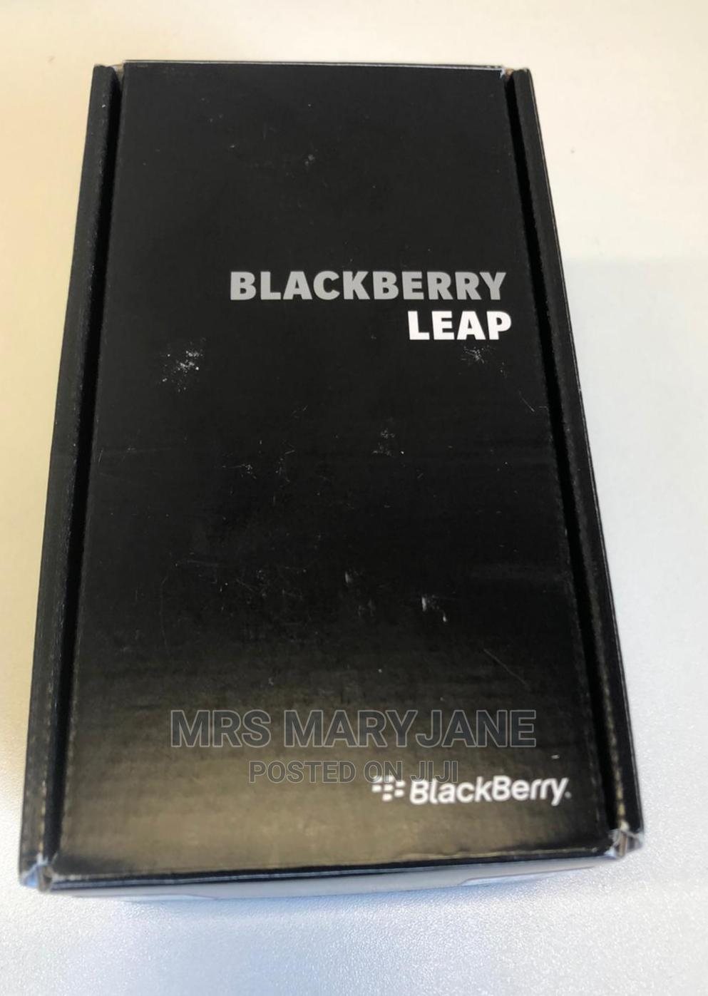 Archive: New BlackBerry Leap 16 GB Black