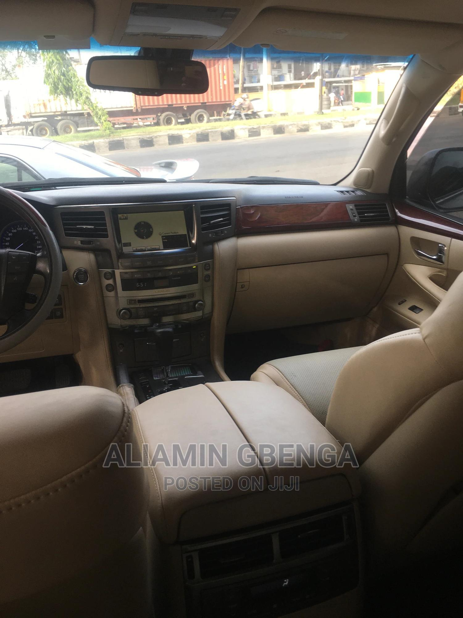 Lexus LX 2012 570 Gray | Cars for sale in Surulere, Lagos State, Nigeria