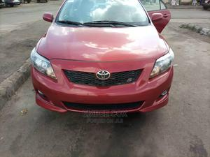 Toyota Corolla 2009 Red   Cars for sale in Abuja (FCT) State, Gwarinpa