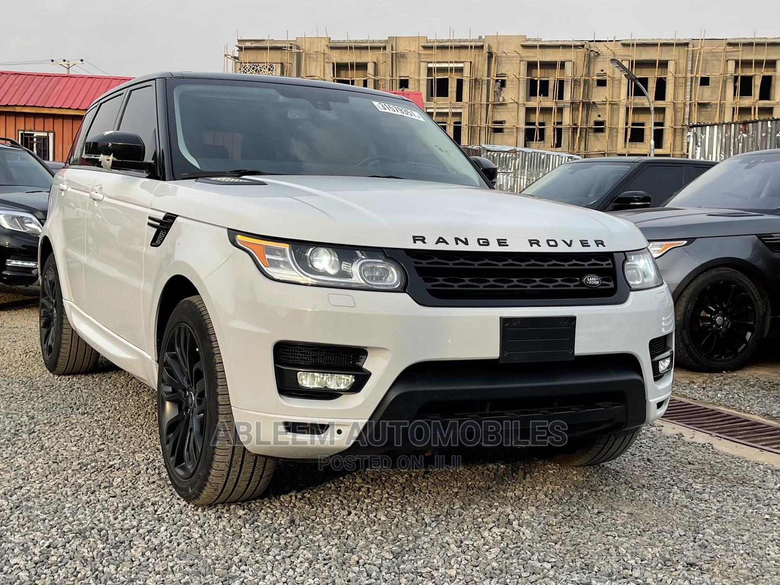 Land Rover Range Rover Sport 2014 White