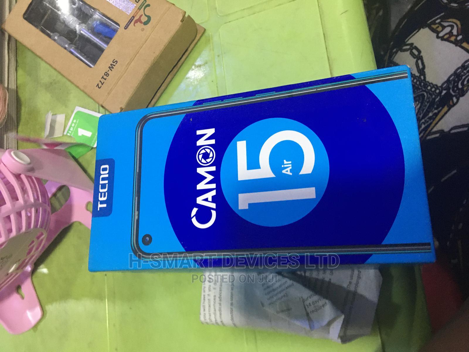 Archive: Tecno Camon 15 Air 64 GB Blue
