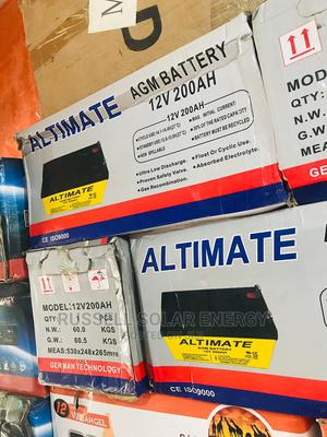 12v 200ahs Altimate Solar Battery Available   Solar Energy for sale in Lagos State, Ojo