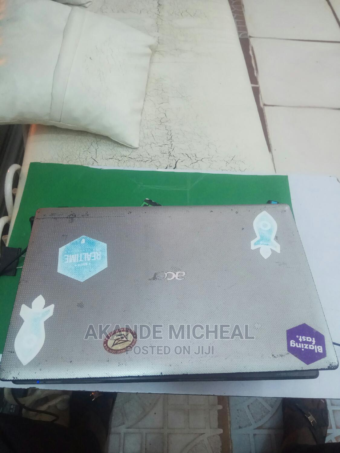 Laptop Acer Aspire 1 4GB Intel Core I3 HDD 500GB | Laptops & Computers for sale in Ikeja, Lagos State, Nigeria