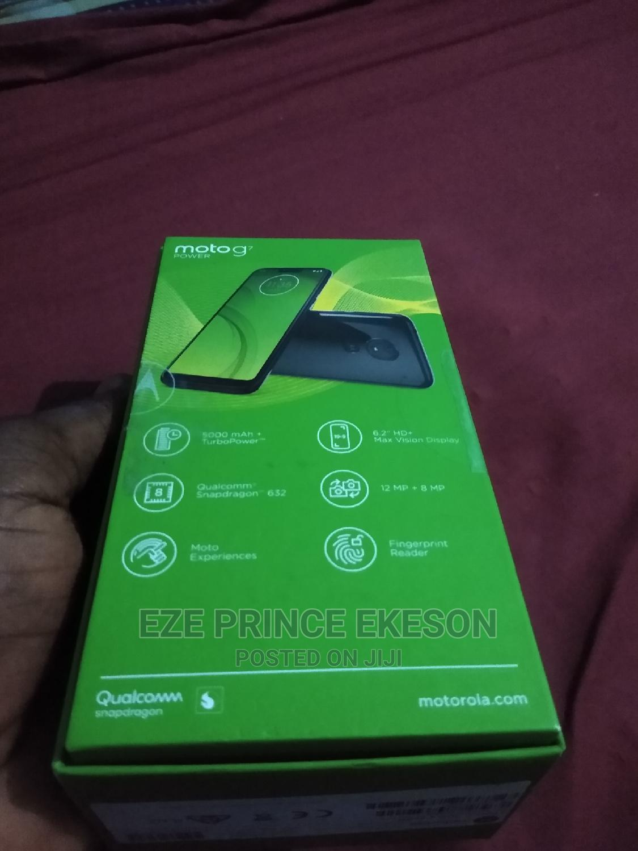 New Motorola Moto G7 Power 64 GB Black