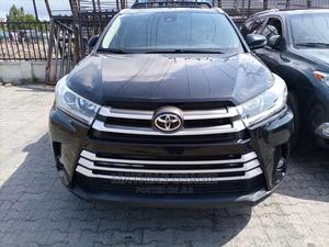 Toyota Highlander 2017 XLE 4x4 V6 (3.5L 6cyl 8A) Black   Cars for sale in Lagos State, Ajah