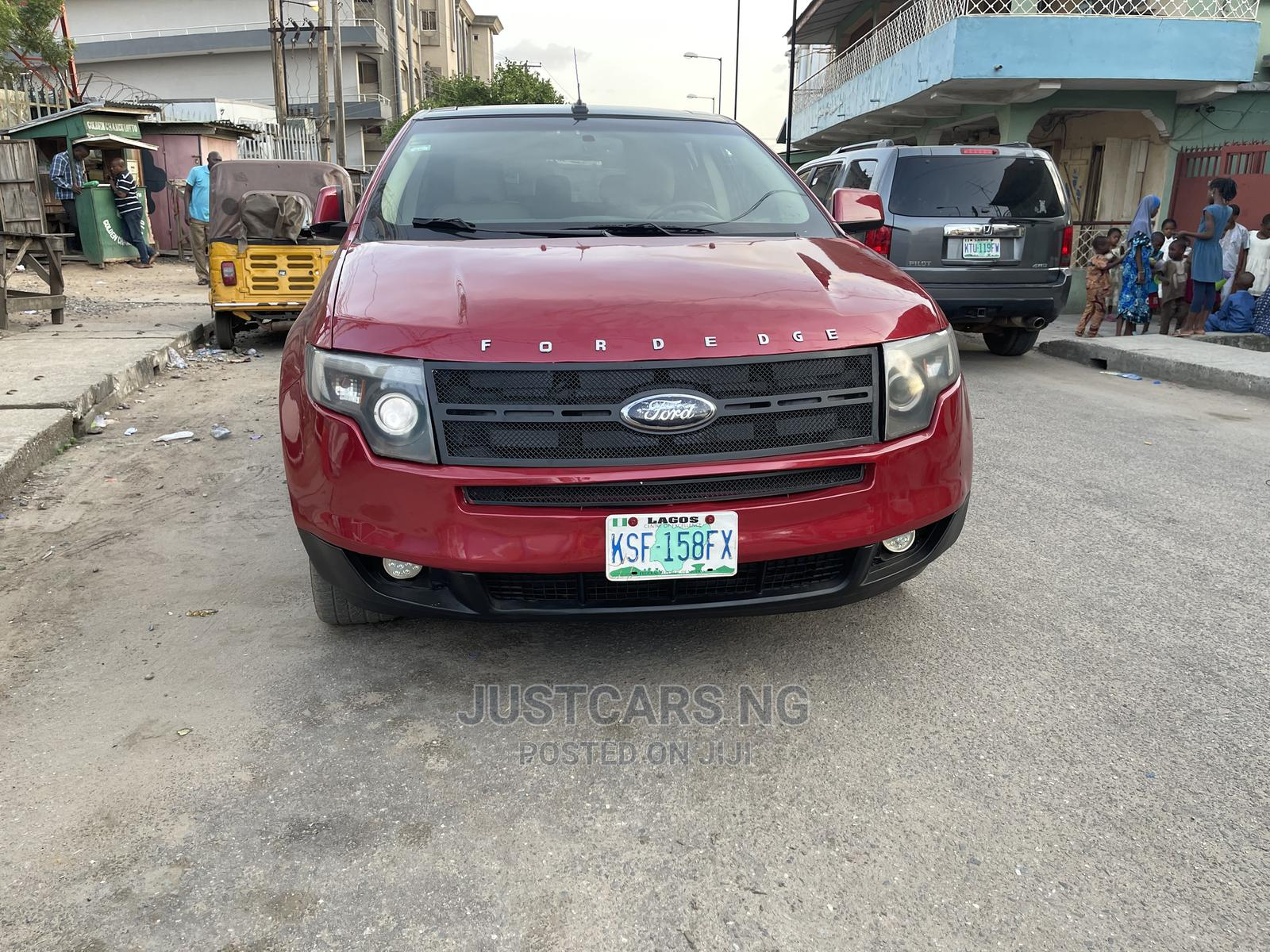 Ford Edge 2011 Red