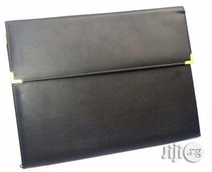 A4 Black Leather Seminar Bag | Bags for sale in Lagos State