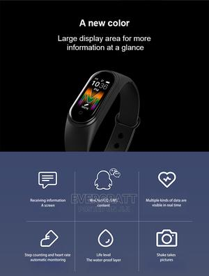 M5 Smart Watch, Heart Rate, Blood Pressure Monitor. Fitness | Smart Watches & Trackers for sale in Akwa Ibom State, Uyo