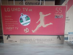 LG 55 Inches Smart TV With 2 Years Warranty at a Promo Price | TV & DVD Equipment for sale in Ogun State, Ado-Odo/Ota