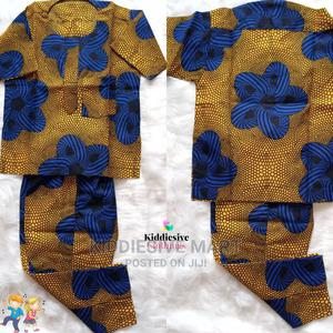 Ankara Print Short Sleeved Shirt and Trouser | Children's Clothing for sale in Lagos State, Ipaja