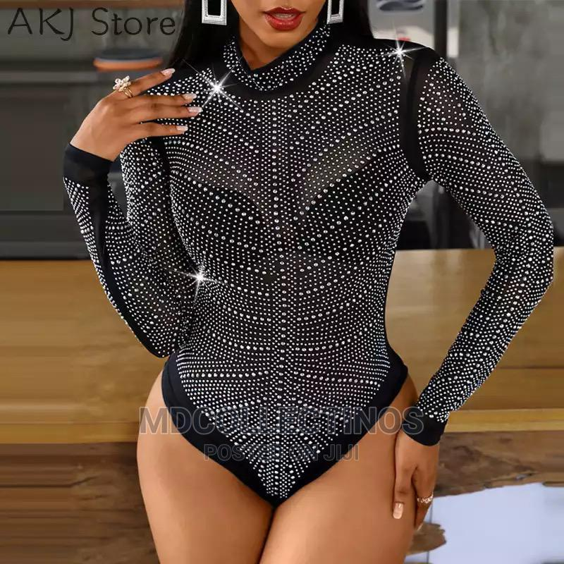 Shiny Bodysuit Long_sleeve   Clothing for sale in Apapa, Lagos State, Nigeria