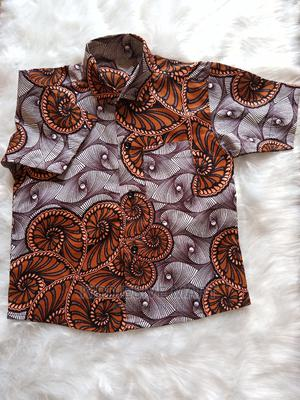 Boys Short Sleeved Shirt | Children's Clothing for sale in Lagos State, Ipaja