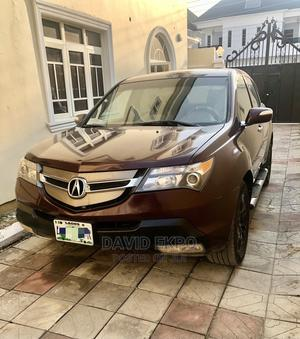 Acura MDX 2007 SUV 4dr AWD (3.7 6cyl 5A) Red | Cars for sale in Lagos State, Ajah
