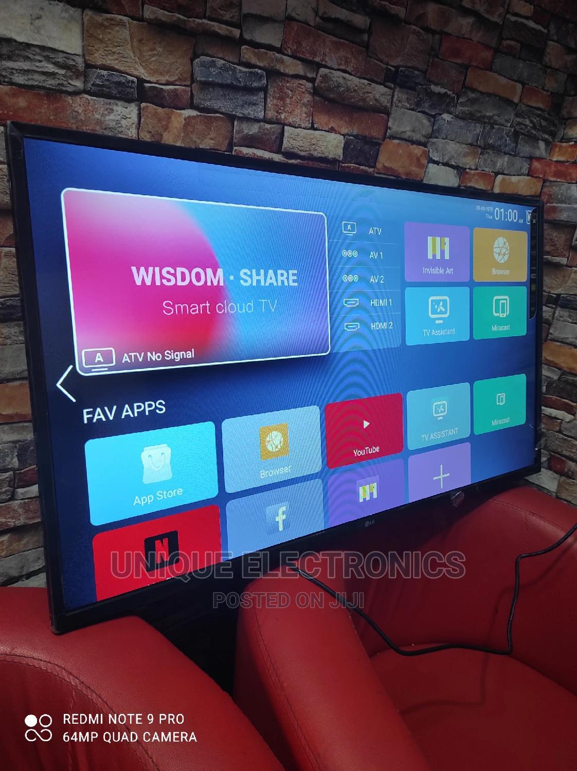 """LG 43""""Inch Android SMART TV Netflix + Wi-Fi + Youtube App   TV & DVD Equipment for sale in Ojo, Lagos State, Nigeria"""