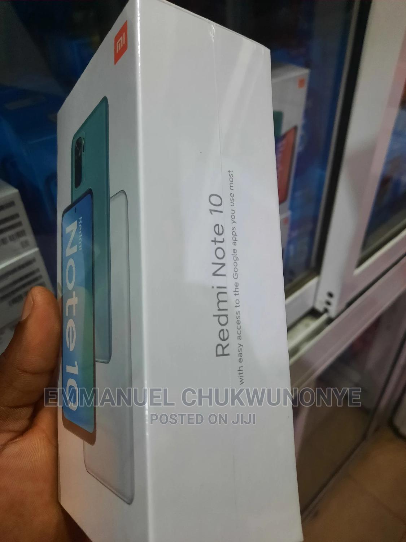 New Xiaomi Redmi Note 10 128 GB Black | Mobile Phones for sale in Ikeja, Lagos State, Nigeria