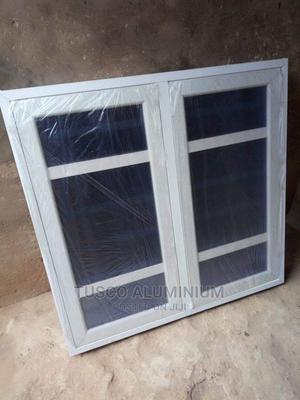 Casement Window With Burglary and Net | Windows for sale in Lagos State, Ejigbo