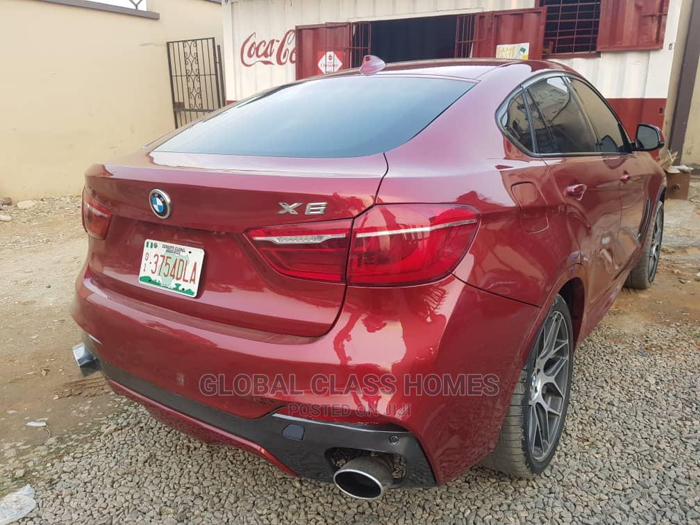 BMW X6 2018 xDrive35i AWD Red