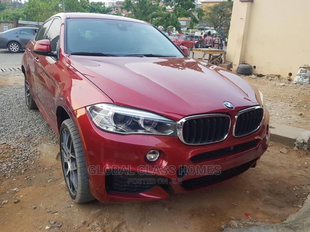 BMW X6 2018 xDrive35i AWD Red | Cars for sale in Lekki, Lagos State, Nigeria