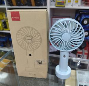 Yoobao Mini Rechargeable Fan | Home Appliances for sale in Lagos State, Ikeja