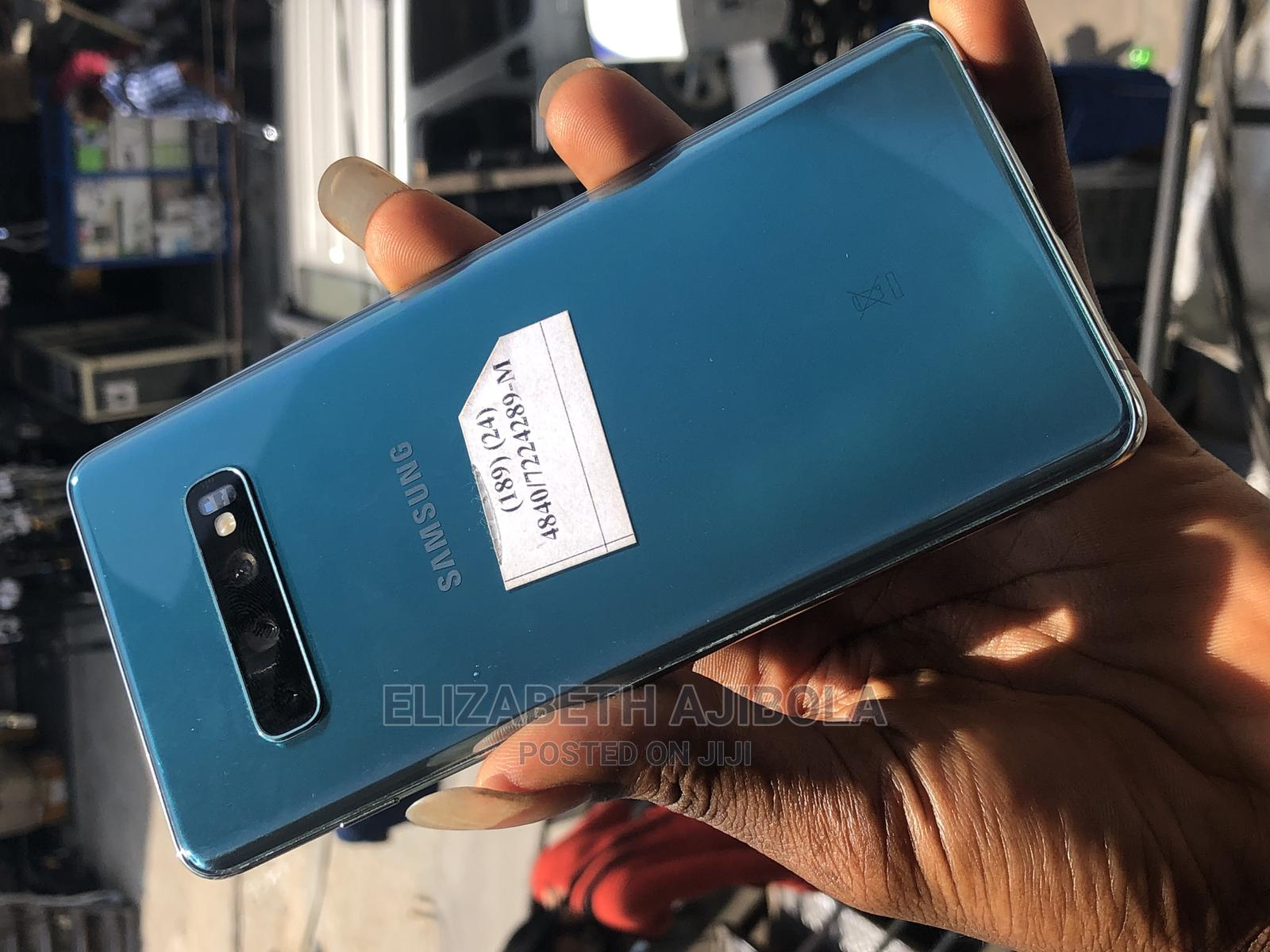 Samsung Galaxy S10 Plus 128 GB Green | Mobile Phones for sale in Ikeja, Lagos State, Nigeria