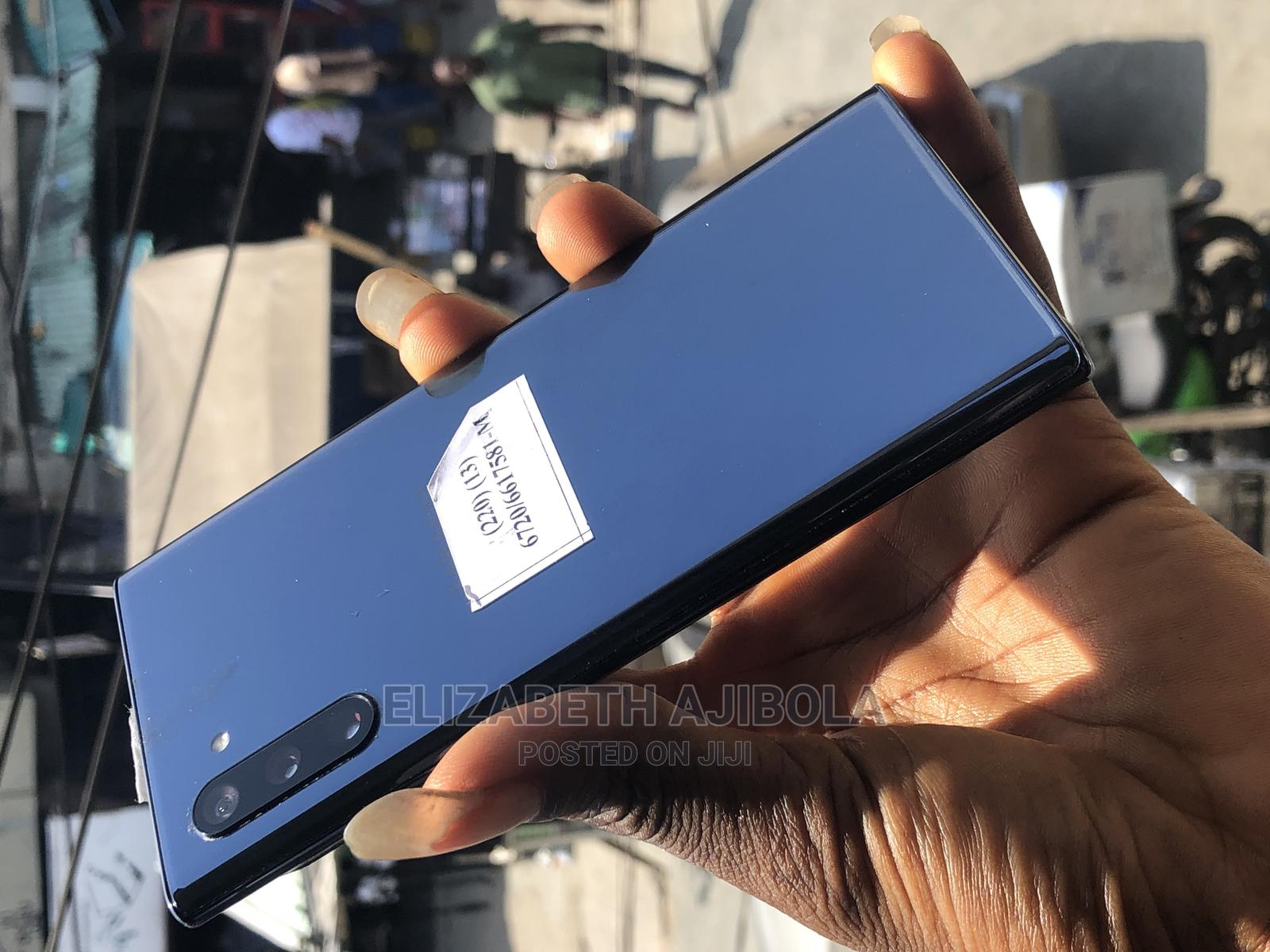 Samsung Galaxy Note 10 Plus 256 GB Blue | Mobile Phones for sale in Ikeja, Lagos State, Nigeria