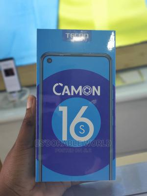 New Tecno Camon 16S 128 GB Black   Mobile Phones for sale in Delta State, Ethiope West