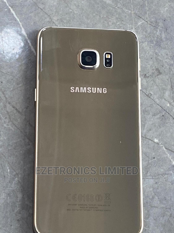 Samsung Galaxy S6 Edge Plus 32 GB Gold   Mobile Phones for sale in Ikeja, Lagos State, Nigeria