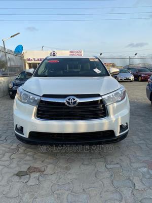 Toyota Highlander 2015 White   Cars for sale in Lagos State, Lekki