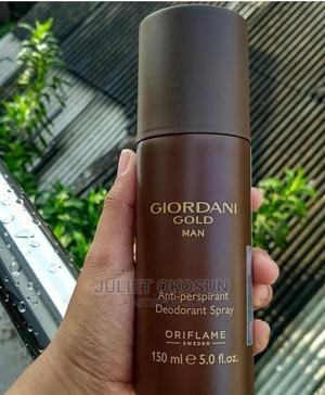 Giordani Gold Man Antiperspirant Deodorant Spray | Bath & Body for sale in Enugu State, Enugu