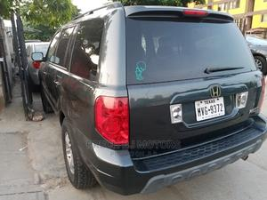 Honda Pilot 2005 EX-L 4x4 (3.5L 6cyl 5A) Gray | Cars for sale in Lagos State, Ogba