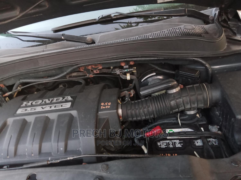 Honda Pilot 2005 EX-L 4x4 (3.5L 6cyl 5A) Gray | Cars for sale in Ogba, Lagos State, Nigeria