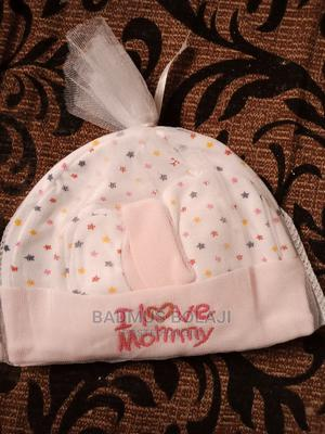 Baby Cap With Glove | Children's Clothing for sale in Lagos State, Ipaja