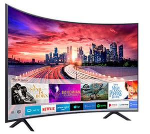 """Samsung RU7300 (55""""Inch) UHD Curved Smart TV Warranty 2years   TV & DVD Equipment for sale in Lagos State, Ojo"""