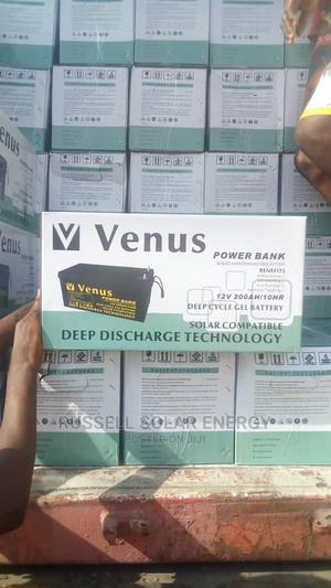 12v 200ahs Solar Battery Venus   Solar Energy for sale in Lagos State, Ojo