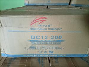 12v 200ahs Rita Solar Battery Available   Solar Energy for sale in Lagos State, Ojo