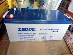 12v 200ahs Zedix Solar Battery Available   Solar Energy for sale in Lagos State, Ojo