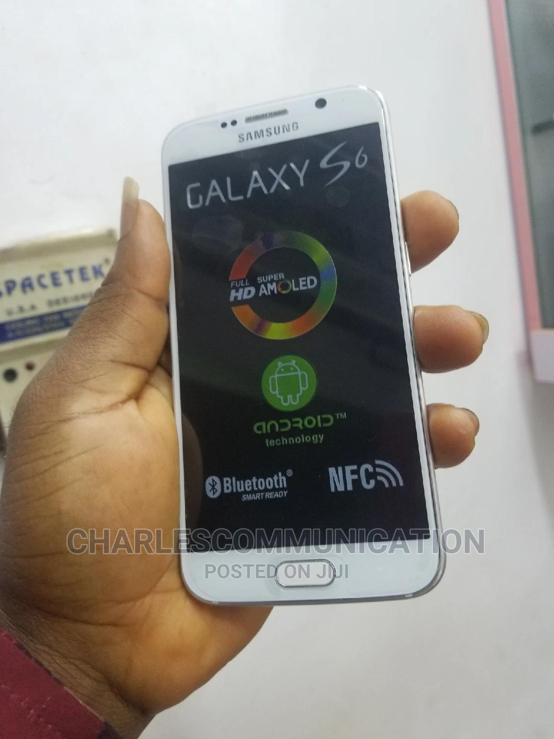 Samsung Galaxy S6 32 GB White   Mobile Phones for sale in Ikeja, Lagos State, Nigeria