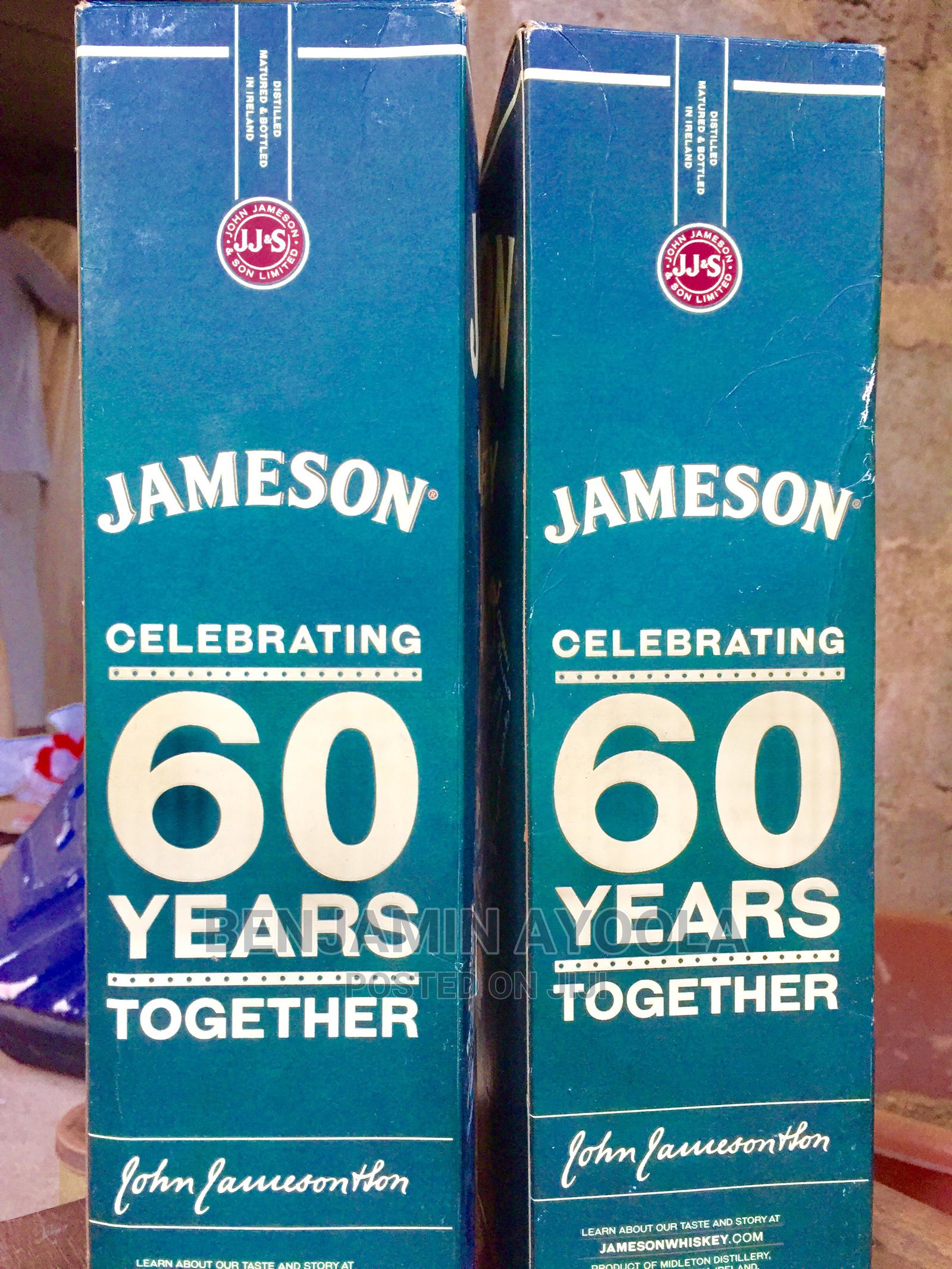John Jameson Whiskey 700ml   Meals & Drinks for sale in Badagry, Lagos State, Nigeria