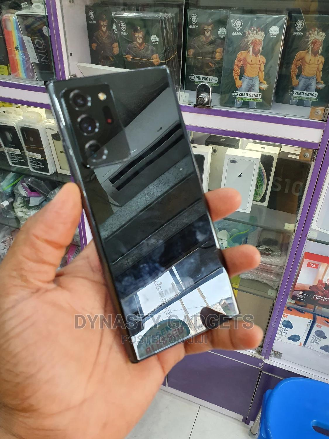 Samsung Galaxy Note 20 Ultra 5G 128GB Black | Mobile Phones for sale in Ikeja, Lagos State, Nigeria