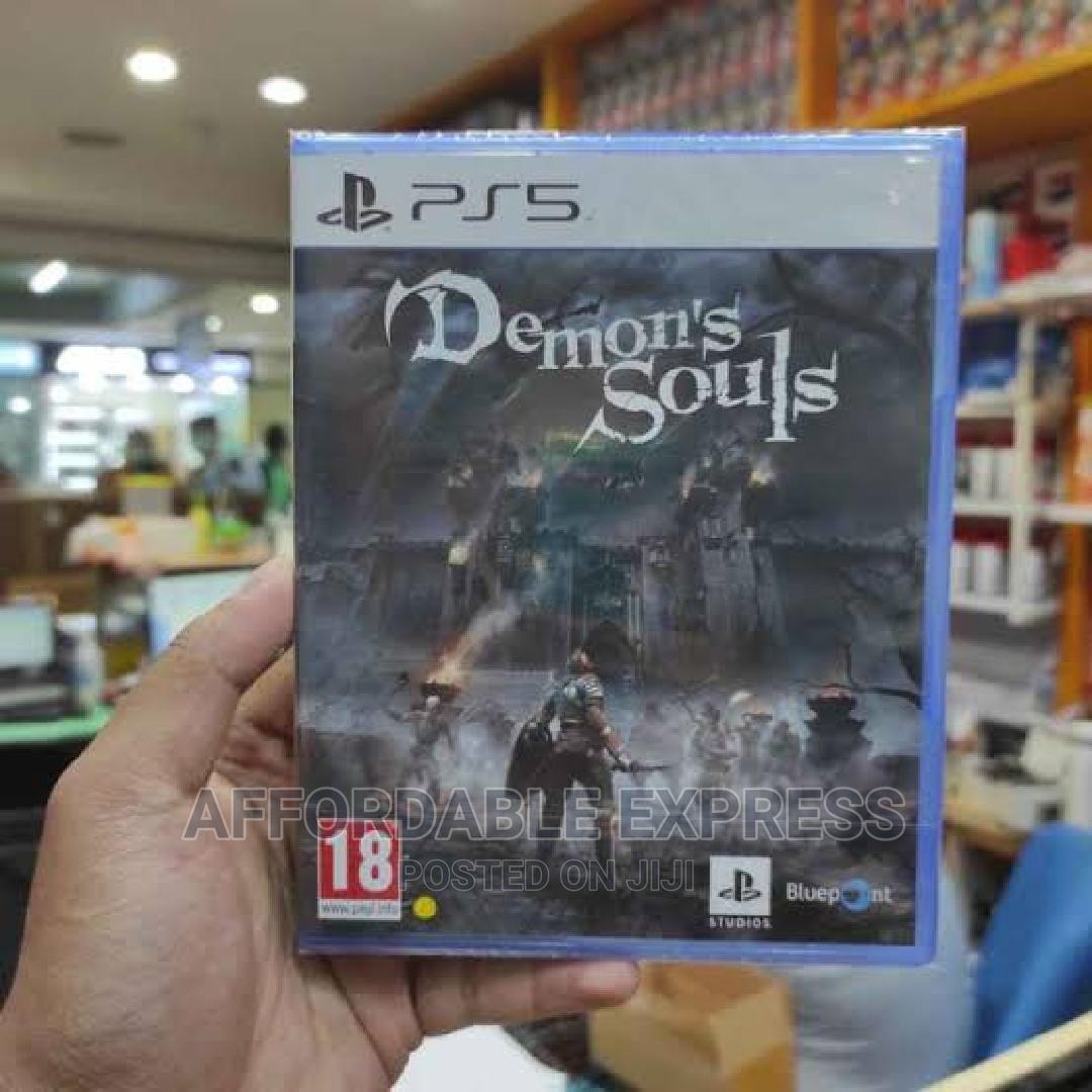 Archive: Ps5 Demon Souls Exclusive Playstation 5 Game