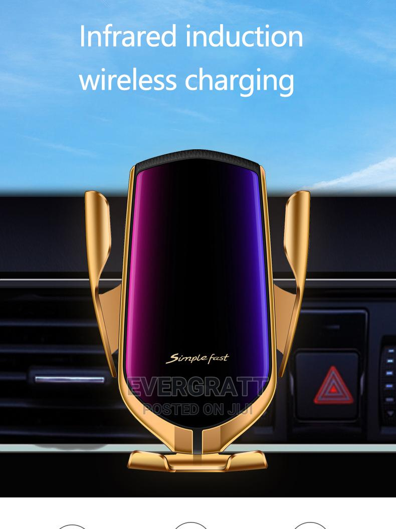Wireless Car Charger,10W Qi Fast Car Charging,iPhone Samsung | Accessories for Mobile Phones & Tablets for sale in Uyo, Akwa Ibom State, Nigeria