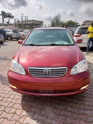Toyota Corolla 2004 Sedan Red   Cars for sale in Lagos State, Ikeja